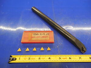 3 4 Boring Bar 5 Tpmr Inserts For Southbend Hardinge And Other Lathes Tooling