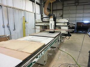 31 5 X 5 C r Onsrud Model 288g12 Panel Pro 3 axis Cnc Moving Gantry Router