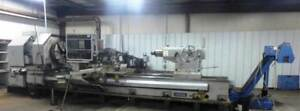 51 x157 Ikegai Model Aub 60b Cnc Big Bore Oil Field Lathe With 11 25 Bore