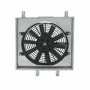 Mishimoto Radiator Aluminum Slim Fan Shroud Kit 92 00 Civic 93 97 Del Sol