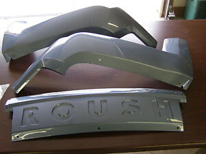Nos Oem 2005 2009 Roush Mustang Rear Bumper Ground Effects 2006 2007 2008 Blue