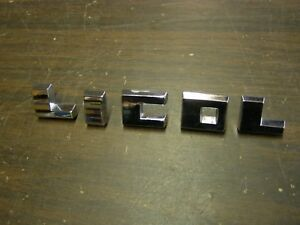 Nos Oem Ford 1955 1956 1957 Lincoln Hood Letters Ornaments Emblems Premiere