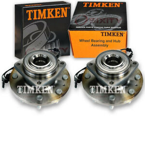 Timken Rear Wheel Bearing Hub Assembly For 2013 2017 Ford Escape Pair Left Gr