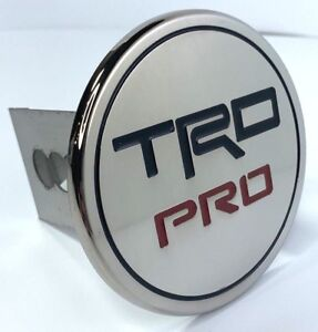 Trd Pro Round Emblem Tow Hitch Cover toyota Racing Development