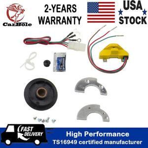 2020 Ignition Conversion Kit Points Eliminator Module Kit Fit For Mercury Ford