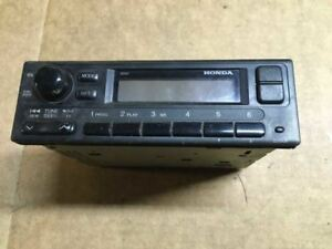 99 00 1999 2000 Honda Civic Am Fm Stereo Radio Player