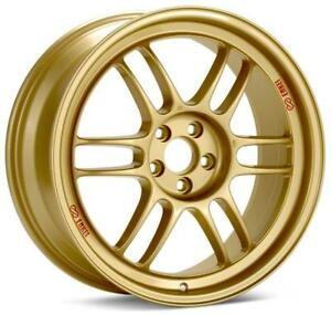 Enkei Rpf1 18x8 5x100 45mm Offset 56mm Bore Gold Wheel For 02 10 Wrx For 04 St