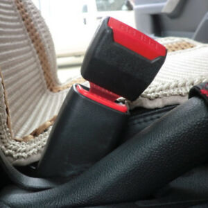 2x Hot Universal Safety Seat Belt Buckle Clip Extender Car Safety Alarm Stopper