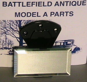 1930 1931 Model A Ford Ratrod Streetrod Inside Rearview Mirror Closed Cars
