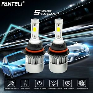 9007 Hb5 Led Headlight Kit Hi Lo Beam 1550w 232500lm Car Light Bulbs 6000k White