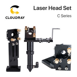 C Series Co2 Laser Head Set Mount Focal Lens Si mo Mirrors For Engraver Cutter