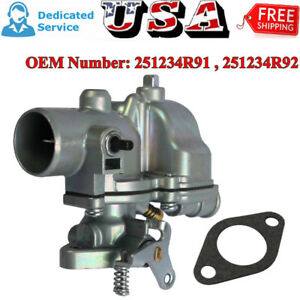 Tractor Carburetor Carb For Ih Farmall Tractor Cub Lowboy 251234r91 251234r92 Us