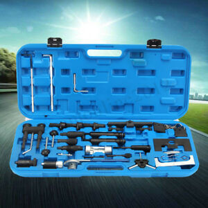 36x Diesel Petrol Diesel Engine Timing Camshaft Tools Set Kit For Vw Audi Skoda