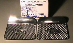 1928 1931 Model A Ford Running Board Step Plates One Pair