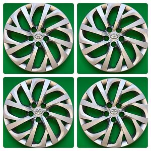 Set Of 4 16 Hubcaps Wheelcovers Fits 2017 2018 Toyota Corolla Le