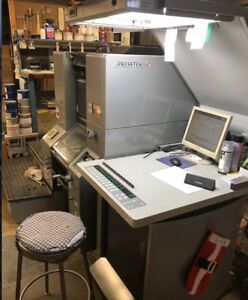 2007 Presstek Ryobi 34di Digital Direct Printing Press From Kirbywest