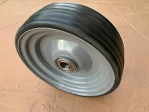 Sicma 10 X 3 25 X 1 Solid Wheel 6602739 For 60 And 72 Finish Mowers