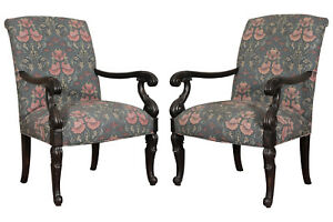 Pair Of Hickory Baltic Style Armchairs 78824