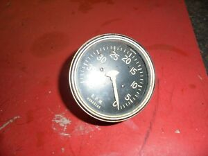Rare Reverse Sweep Tachometer 4000 Rpm Tach Gasser Rat Rod Hot Rod Dune Buggy