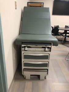 Ritter 204 Exam Table By Midmark Medical Table Green Leather