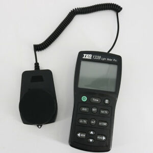 Tes 1339 Light Meter Pro 0 01 Lux Resolution With Dual Display 4 Digit Lcd