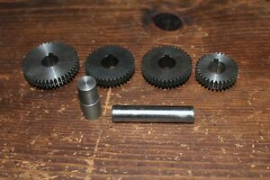 Emco Lathe Gears Powerfeed 46 2 40 32 Tooth 11 16 Shaft Keyway