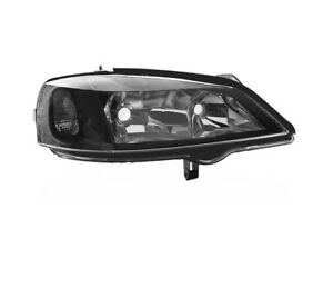 Opel Astra G 1998 2004 Black Vp1146p Right Headlight Rht