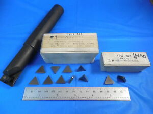 1 Diameter Shank Boring Bar With 11 Tpg Inserts To Fit Cnc Lathe Machine Shop