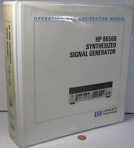Hp 8656b Synthesized Signal Generator Operation Calibration Manual Sec 1 5