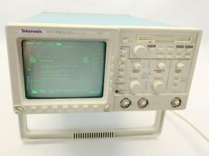 Tektronix Tds360 Digital Oscilloscope 200mhz 1gs s 2 Ch Pre owned