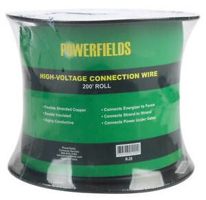 Powerfields Electric Fence High voltage Connection Wire 200