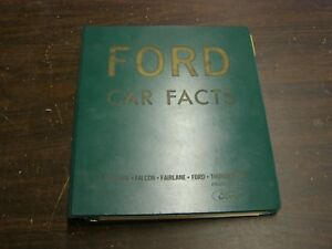 Oem Ford 1967 Dealer Facts Book Mustang Galaxie Fairlane Falcon Thunderbird Nos
