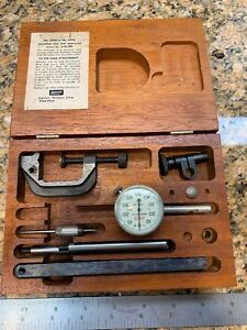 Lufkin Universal Dial Test Indicator 399a 299a Works Complete Set C05