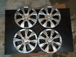 1 Set Of 4 New 2014 15 2016 Corolla 15 Hubcaps Wheel Covers 61171 Free Shipping