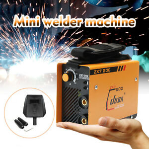 220v Portable Mma Arc Welder Dc Igbt Welding Machine Soldering Inverter Zx7 200