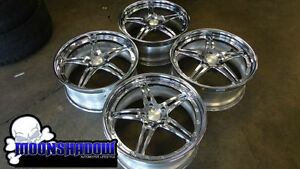 Swiss 3 Piece 20 Chrome Wheels Rims 5x120 Bmw Swiss Like Asanti Forgiato