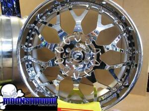 28 Forgiato Torino Ff Chrome Wheels Rims Cadillac Escalade Chevy Tahoe 6x139