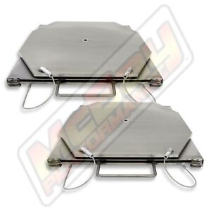 Alignment Rack Stainless Steel Car Light Truck Turn Plate Table Set Hunter Usa