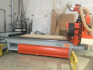 Omnitech Spectra Cnc Router Used 5x10 Table