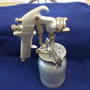 Devilbiss Jga 502 Air Spray Paint Spray Gun W sharpe Model 450 Can Good Working