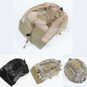 New FMA Airsoft FAST Helmet Cover For Tactical Fast Helmet BKDEMulticam TB1310
