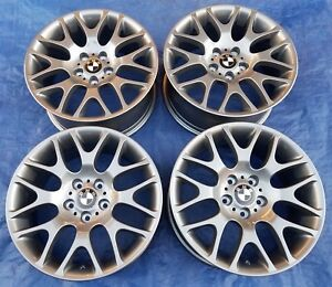 Bmw E90 91 92 93 Bbs Rx282 3 Oem Staggered 18 Style 197 Wheels Rims Restored