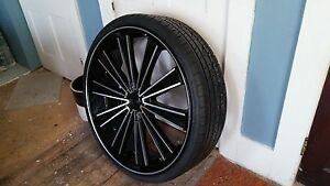 30 Inch Rims And Tires 4 Brand New Fits 5 Lug Like Jeep Wrangler 1987 2006