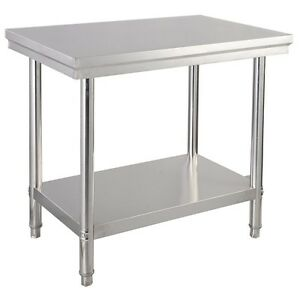 Stainless Steel Commercial Kitchen Food Prep Table Desk Workstation 36 x24 x35