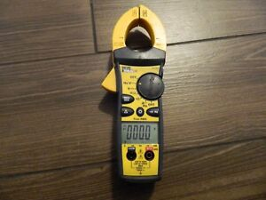 Ideal 61 763 Clamp On Ampmeter Free Shipping