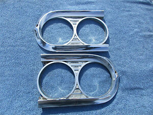 1959 Edsel Ranger Headlight Bezels Rings