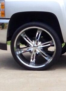 26 Inch 6 Lug Rims And Tires