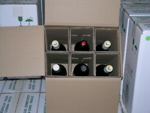 Lot Of 850 Wine 6 pack Shipping Boxes With Inserts At Below Market Prices 1 85