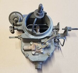 Carter 2168 Mopar Carburetor 2 Bbl Dodge Chrysler Plymouth 318 Two Barrel
