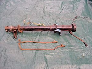 1956 Ford Fairlane Victoria Steering Column For Standard Trans W shift Rods